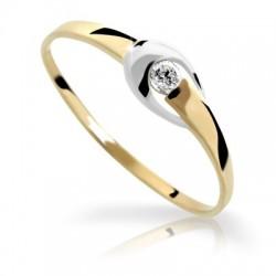 DANFIL DF1063Z prsteň s briliantom