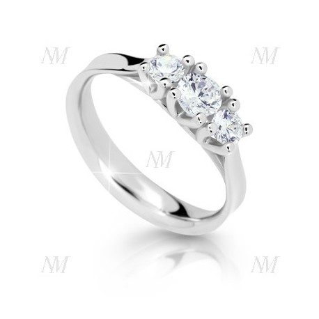 DANFIL DF1924 prsteň s briliantmi