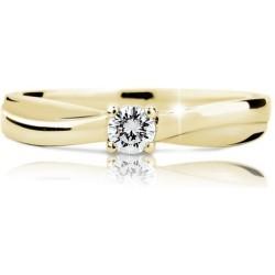 DANFIL DF1906 prsten s briliantem