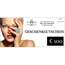 GESCHENK GUTSCHEIN € 100