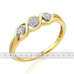 GEMS 381-1872 Ring mit Brillanten
