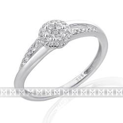 GEMS 386-2330 prsteň s briliantmi