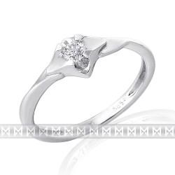 GEMS 386-2123 prsteň s briliantom