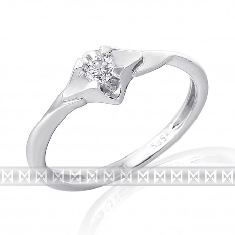 GEMS 386-2123 Ring mit Brillant