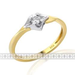 GEMS 381-2123 prsteň s briliantom
