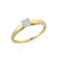 GEMS 381-2167 Ring mit Brillant