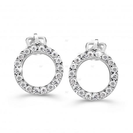 Cutie Jewellery Z60240w Ohrringe mit Zirkonen