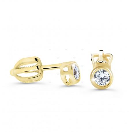 Cutie Jewellery Z62231y náušnice s briliantmi