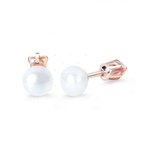 Cutie Jewellery Z8002r Ohrringe mit Perlen (Stecker)